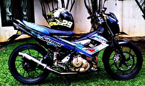 1 chiếc Satria F đến từ Indonesia