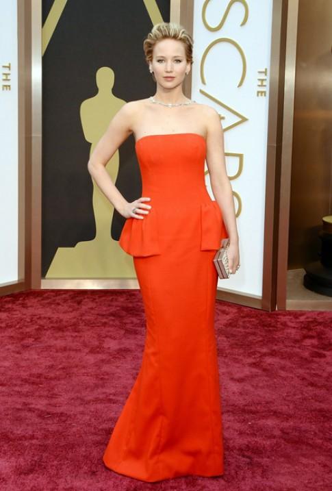 12 bộ váy Dior đẹp nhất của Jennifer Lawrence
