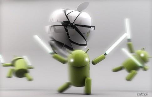 12 ly do Android van tot hon iOS 7