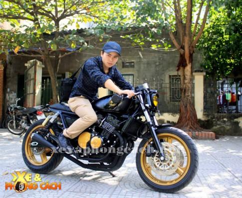 3 mau Cafe Racer do day phong cach cua xuong do Ha Thanh