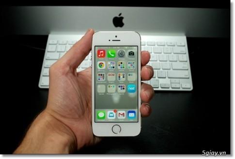 7 điều chính bạn cần biết khi sử dụng iPhone 5s