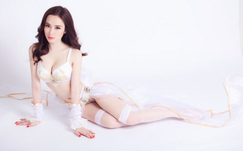 Angela Phuong Trinh hoa chien binh goi cam