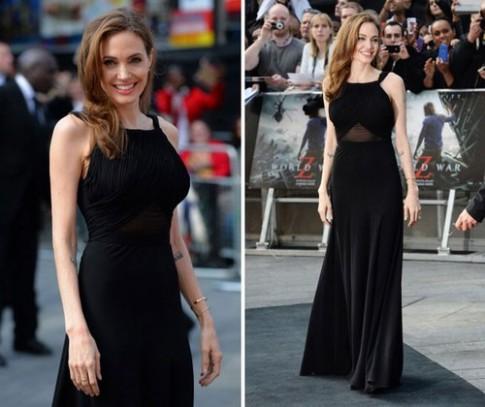 Angelina Jolie 'thong tri' tham do tuan qua