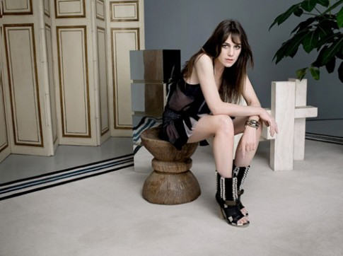 Anh Charlotte Gainsbourg tren tap chi