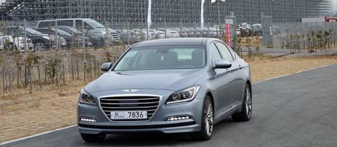 Ảnh thực tế xe sang giá rẻ Hyundai Genesis 2015