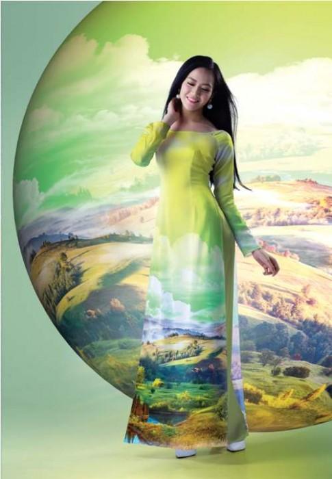 Áo dài duyên dáng cho ngày Quốc tế Phụ nữ