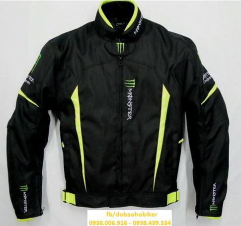 Ao giap di moto xe may Kawasaki Monster