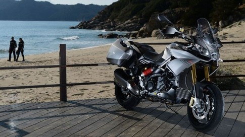 Aprilia Caponord 1200 2014 chiếc xe môtô hoàn hảo