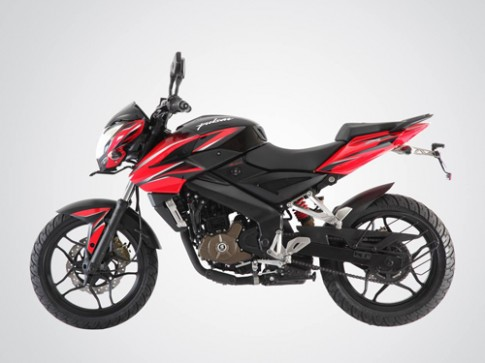 Bajaj Pulsar 200NS - Moto 200 phan khoi gia sieu re