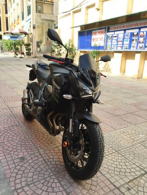 Ban Kawasaki Z800 ABS 2014 tai Ha Noi