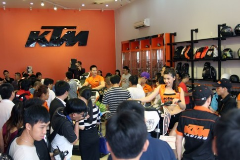 bạn muốn mua moto KTM tại việt nam?