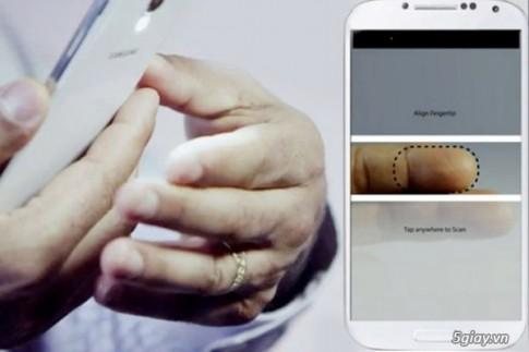 Bao mat van tay bang camera cua smartphone