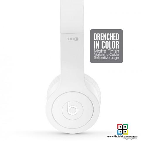 Beats Solo HD 2013 Matte Finish - Ban nang cap dang gia