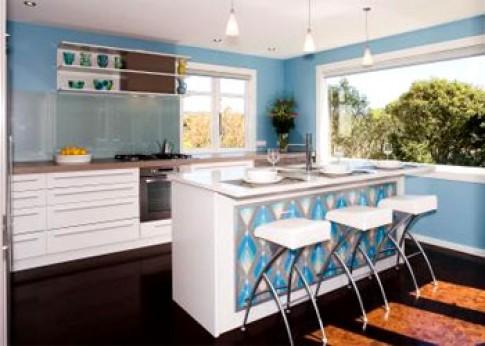 Bếp rộng ở chung cư