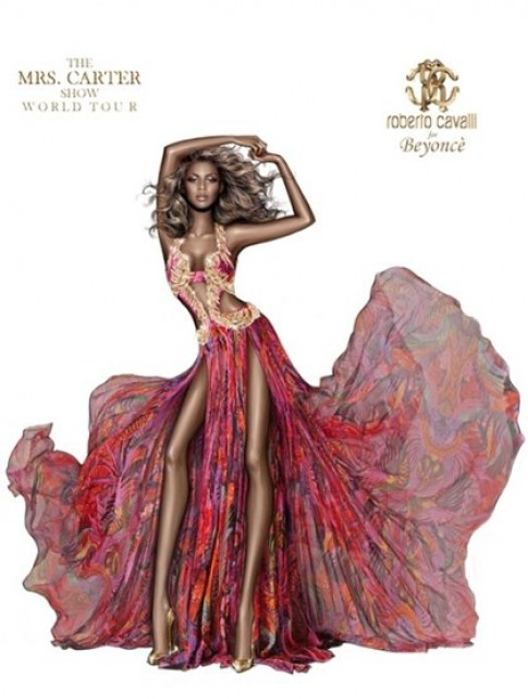 Beyonce bien dang trong anh thoi trang
