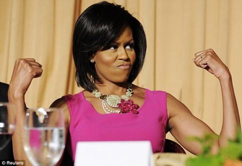 Bi quyet giu dang cua de nhat phu nhan Michelle Obama