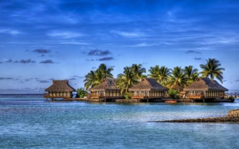 Bien rac khong lo tai Maldives