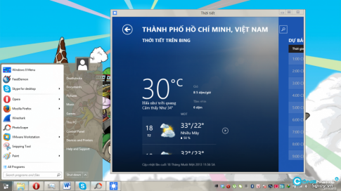 Bien Windows 8.1 thanh Windows 7 de dang
