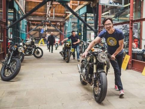 Bike Shed London nơi quy tụ các mẫu xe độ tinh túy của biker Anh