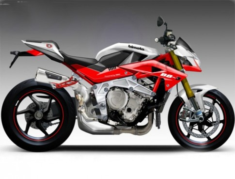 Bimota BB3 - moto dung dong co BMW S1000RR