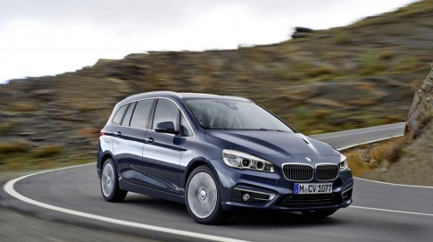 BMW 2-Series Gran Tourer chính thức lộ diện