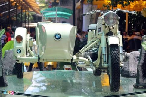 BMW R27 độ cực độc với phong cách Sidecar cổ điển