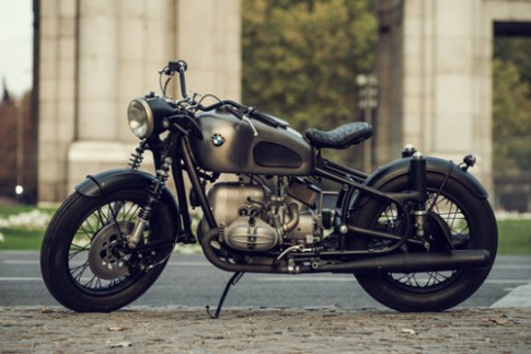 BMW R69S do Cafe racer danh dau cho su tro lai day an tuong