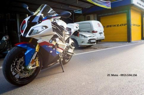 BMW S1000RR 2011 vô nhiều option ở Hà Nội