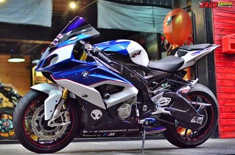 BMW S1000RR 2015 voi phien ban do tuyet dinh cua nguoi Thai
