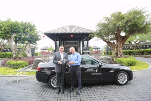 BMW Series 5, 'kẻ vận chuyển' cho Intercontinental Sun Peninsula Đà Nẵng resort