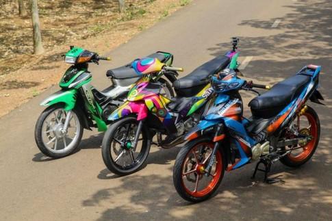 """Bo 3 """"2 thi"""" cua Biker Bien Hoa"""