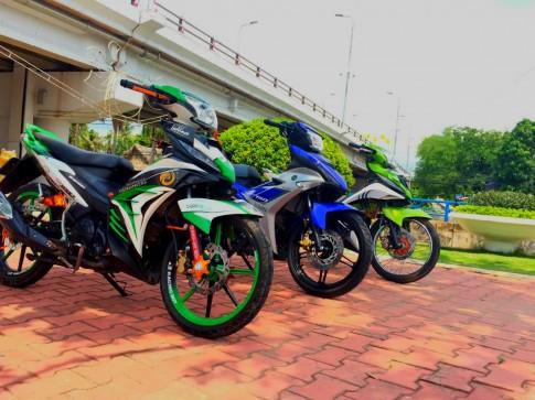 Bộ 3 Exciter Khoe Dáng Ban Trưa