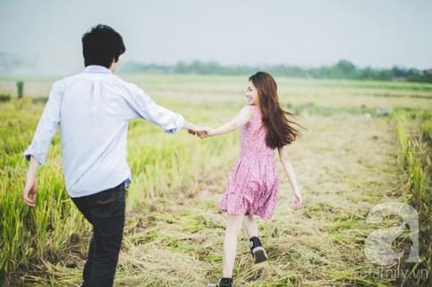 """Bộ ảnh cưới """"chơi đùa trên đồng quê"""" đẹp lạ của cặp đôi Hà thành"""