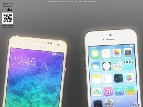 Bộ ảnh so sánh Samsung Alpha vs. iPhone 5s cực đẹp