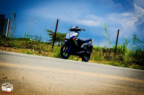 Bo anh ve Honda Click doi cu an tuong