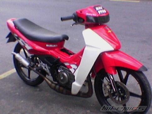 Bộ sưu tập ảnh những chiếc Su Xì po qua nhiều năm của 1 biker
