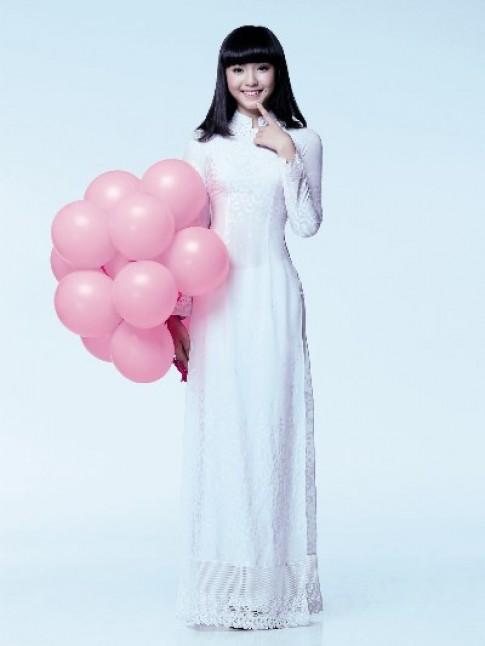 Bộ sưu tập áo dài nữ sinh đẹp lung linh