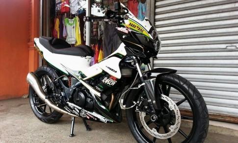 Bộ sưu tập Suzuki Raider theo phong cách siêu môtô