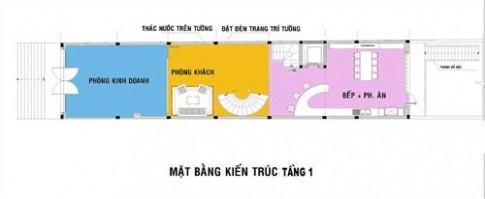 Bo tri khong gian va noi that cho nha pho 145 m2