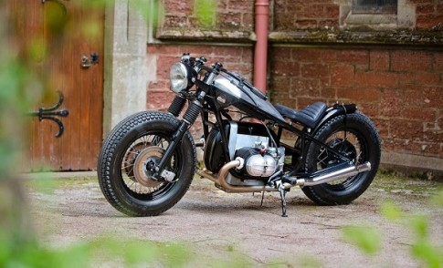 Bobber do manh me voi dong co Boxer den tu BMW