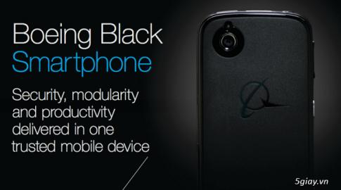 Boeing Black: Smartphone tu huy du lieu neu lop vo bi cay mo