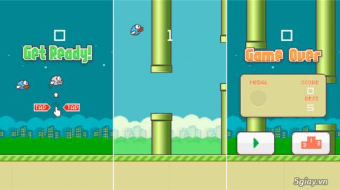 Buc tam thu cua Website danh tieng xin loi cha de Flappy Bird