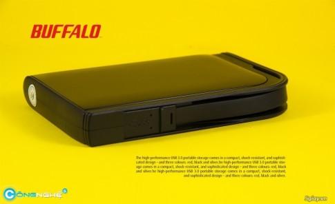 Buffalo MiniStation Extreme HD-PZU3 1TB nhỏ mà có võ