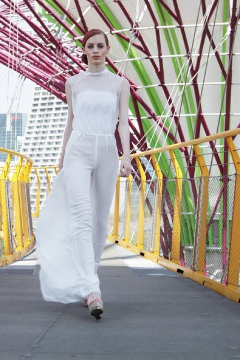 Cac bo suu tap duoc trinh dien taiJ Spring Fashion Show