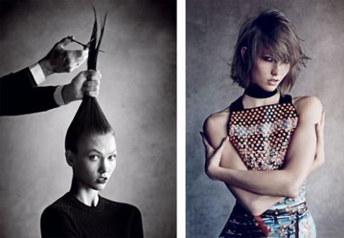 Các siêu mẫu tạo cá tính với mái tóc ngắn