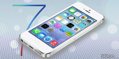 Cách tăng dung lượng sử dụng pin iOS 7.0.4 cho iPhone 5S/5C/4S, iPad