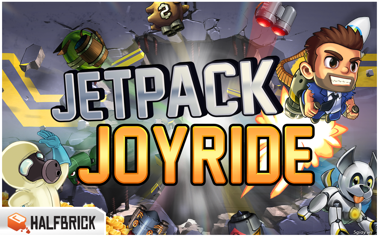 Cai dat game Jetpack Joyride Full cho Android