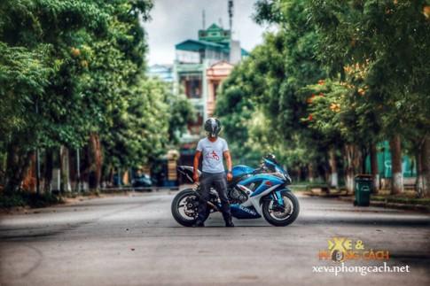 """Cảm nhận của biker Thanh Hóa về xe Suzuki GSX-R """"huyền thoại"""""""