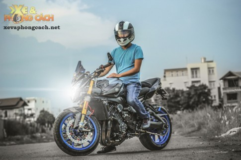 Cảm nhận về chiếc Yamaha FZ8 độ khủng với chi phí 250 triệu của biker Sài Gòn
