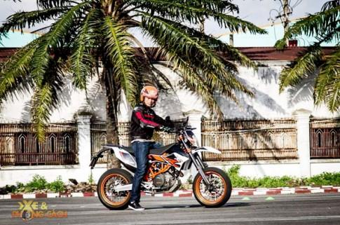 Cam nhan ve KTM SMC 690 R cua chang trai Tay Ninh